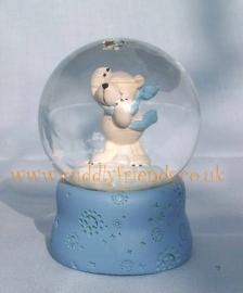 4.5cm Nici Polar Bear Snowglobe