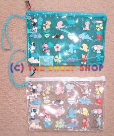 22cm Clear pouch / bag
