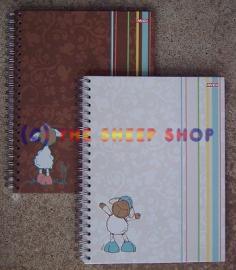 A4 White Hardback  Notebook