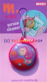 4cm Pink Screen Cleaner