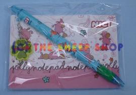 A7 Rosa Notepad