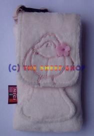 12cm White Rosa Phone case