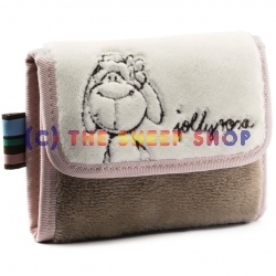 Large Plush Rosa Wallet