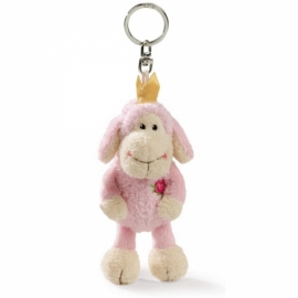 10cm Pink Princess Keyring