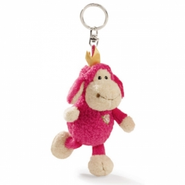 10cm Rose Princess Keyring