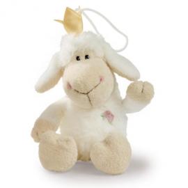 10cm White Princess Dangling with loop