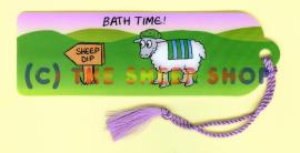 Bath Time Bookmark