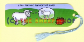 I saw this and thought of ewe Bookmark