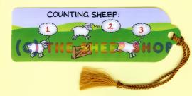 Counting Sheep Bookmark