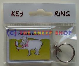 Fab-ewe-lous Keyring