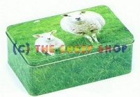 20cm Sheep Storage Tin
