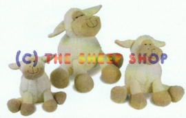 18cm Sitting Sheep